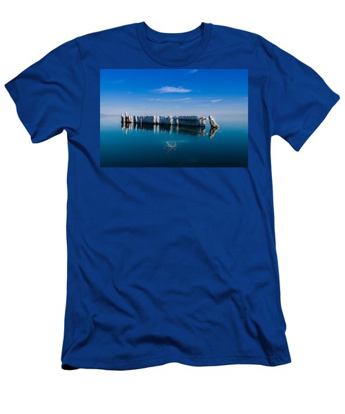 Reflection At Salton Sea Men's T-Shirt (Athletic Fit)