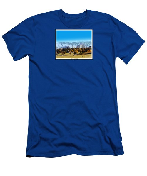 Reno Skyline From Rancho San Rafael Men's T-Shirt (Athletic Fit)