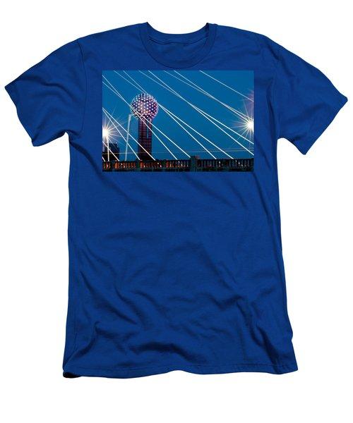 Reunion Tower Men's T-Shirt (Athletic Fit)