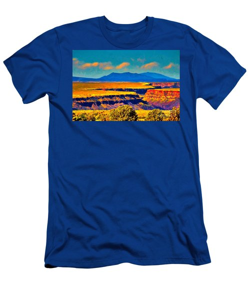 Rio Grande Gorge Lv Men's T-Shirt (Athletic Fit)