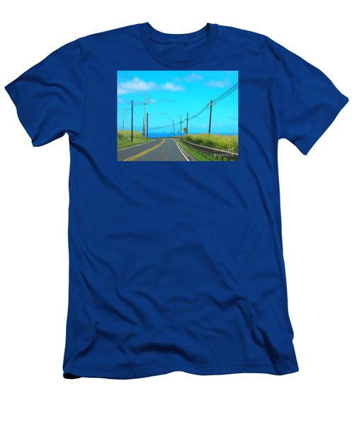 Road To The North Shore Men's T-Shirt (Athletic Fit)