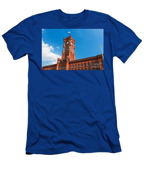 Rotes Rathaus The Town Hall Of Berlin Germany Men's T-Shirt (Athletic Fit)