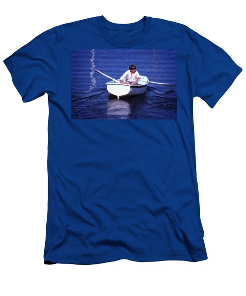 Rower Men's T-Shirt (Athletic Fit)