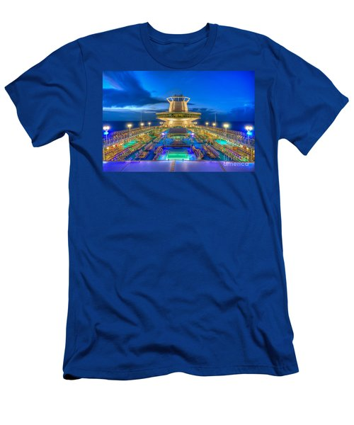 Royal Carribean Cruise Ship  Men's T-Shirt (Athletic Fit)