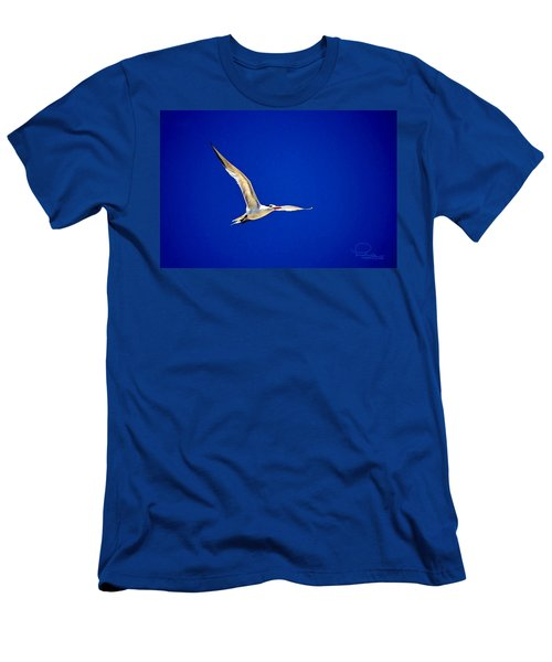 Men's T-Shirt (Slim Fit) featuring the photograph Royal Tern 2 by Ludwig Keck