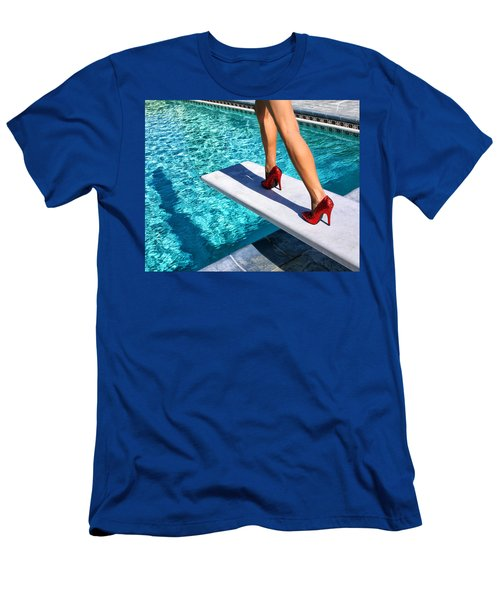 Ruby Heels Ready For Take-off Palm Springs Men's T-Shirt (Athletic Fit)
