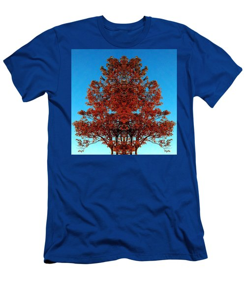 Men's T-Shirt (Slim Fit) featuring the photograph Rust And Sky 2 - Abstract Art Photo by Marianne Dow