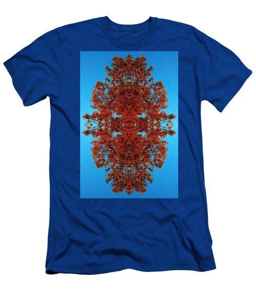 Men's T-Shirt (Slim Fit) featuring the photograph Rust And Sky 4 - Abstract Art Photo by Marianne Dow