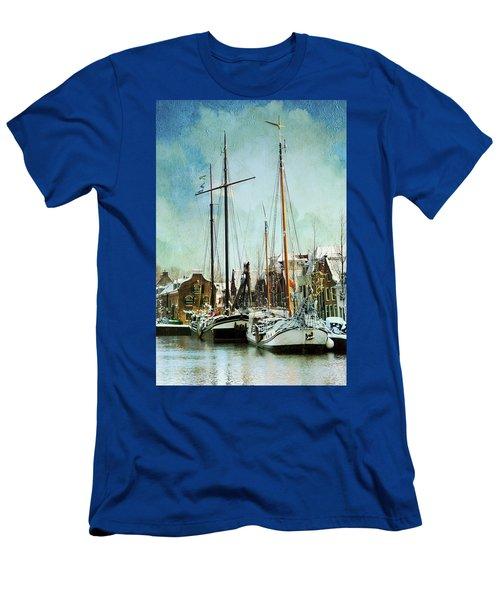Sailboats Men's T-Shirt (Athletic Fit)