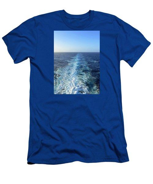 Sailing Away Men's T-Shirt (Athletic Fit)