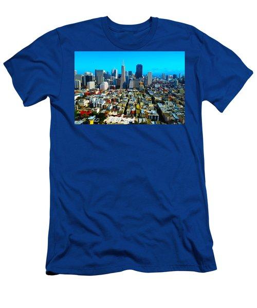 San Fran Colors Men's T-Shirt (Athletic Fit)