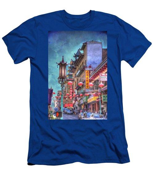 San Francisco Chinatown Men's T-Shirt (Athletic Fit)