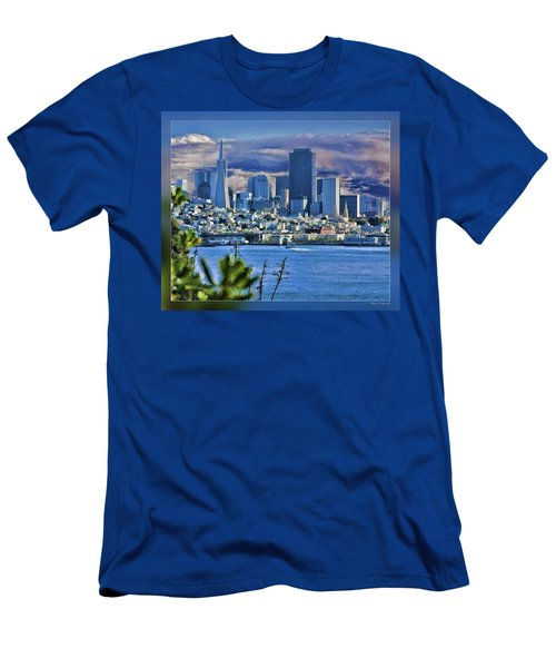 San Francisco From Alcatraz Men's T-Shirt (Athletic Fit)