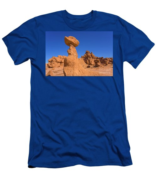 Sandstone Hoodoos In Goblin Valley  Men's T-Shirt (Athletic Fit)