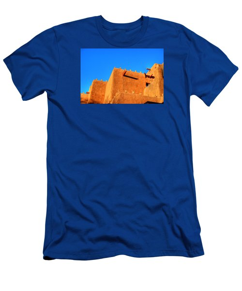 Santa Fe Adobe Men's T-Shirt (Athletic Fit)