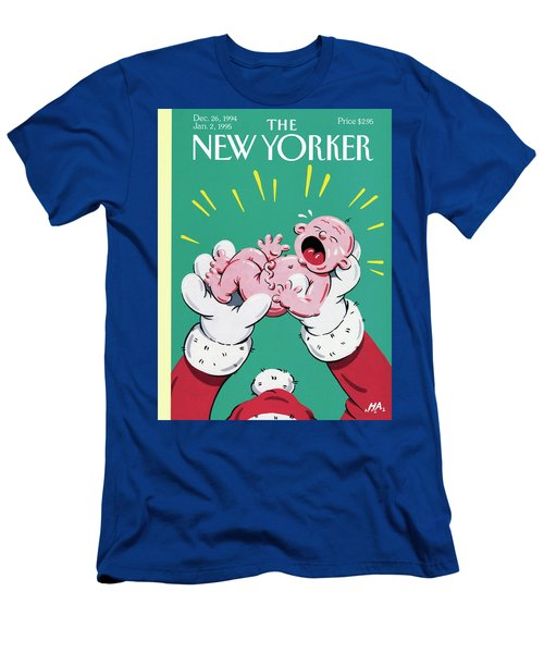 New Yorker December 26th, 1994 Men's T-Shirt (Athletic Fit)