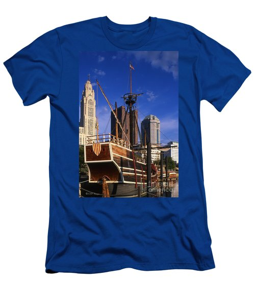 Santa Maria Replica Photo Men's T-Shirt (Athletic Fit)