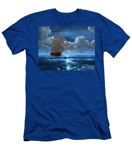 Santisima Trinida In The Moonlight Men's T-Shirt (Athletic Fit)
