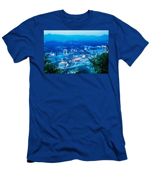 Scenics Around Mill Mountain Roanoke Virginia Usa Men's T-Shirt (Athletic Fit)
