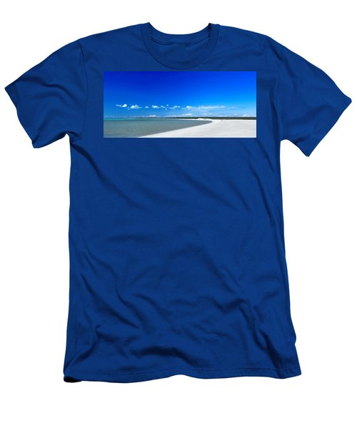 Men's T-Shirt (Slim Fit) featuring the photograph Shell Beach by Yew Kwang