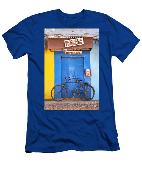 Shop On Street In Goa India Men's T-Shirt (Athletic Fit)