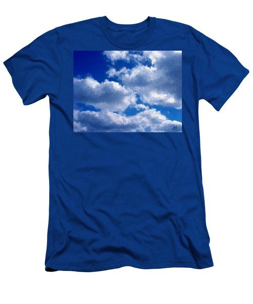 Shredded Clouds Men's T-Shirt (Athletic Fit)