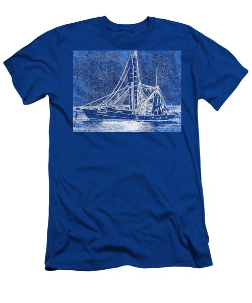 Shrimp Boat - Dock - Coastal Dreaming Men's T-Shirt (Athletic Fit)