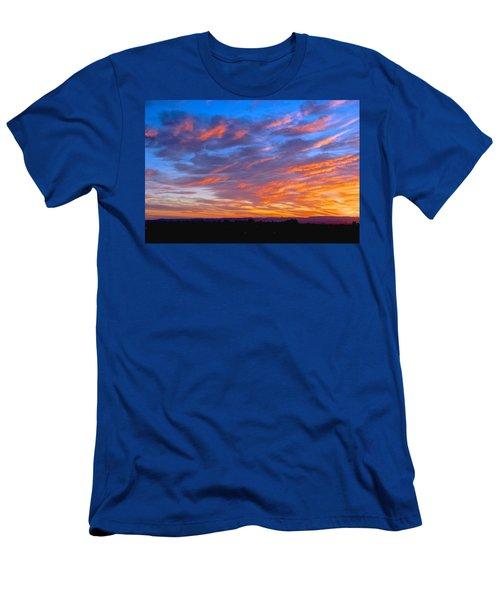 Sierra Nevada Sunrise Men's T-Shirt (Athletic Fit)