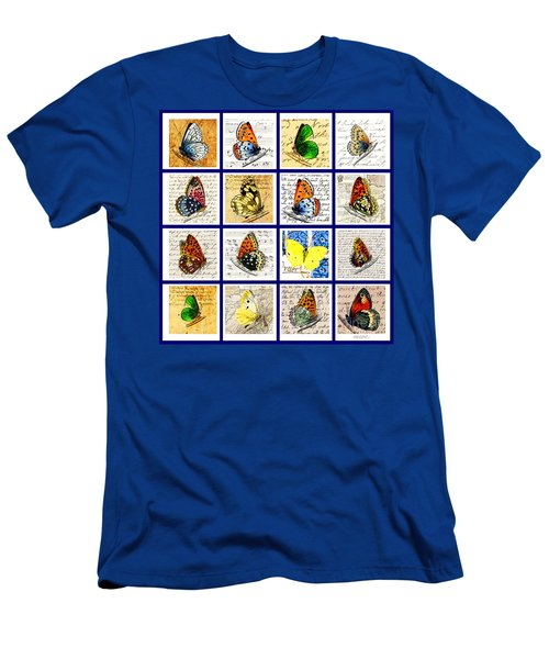Sixteen Butterflies Men's T-Shirt (Athletic Fit)