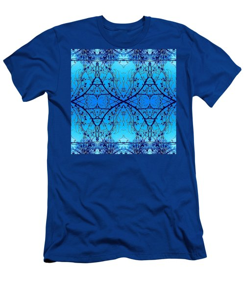 Sky Diamonds Abstract Photo Men's T-Shirt (Athletic Fit)