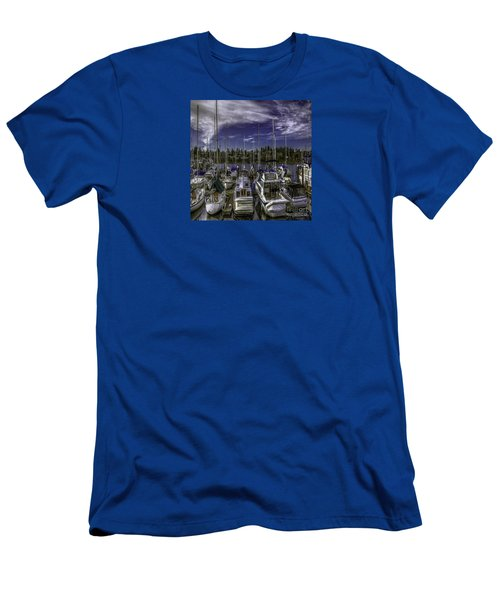 Men's T-Shirt (Slim Fit) featuring the photograph Sky Embrace by Jean OKeeffe Macro Abundance Art