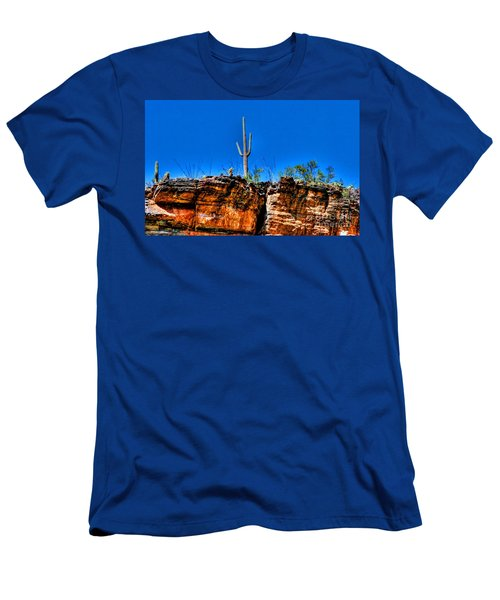 Sky Island Men's T-Shirt (Athletic Fit)