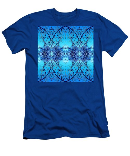 Sky Lace Abstract Photo Men's T-Shirt (Athletic Fit)