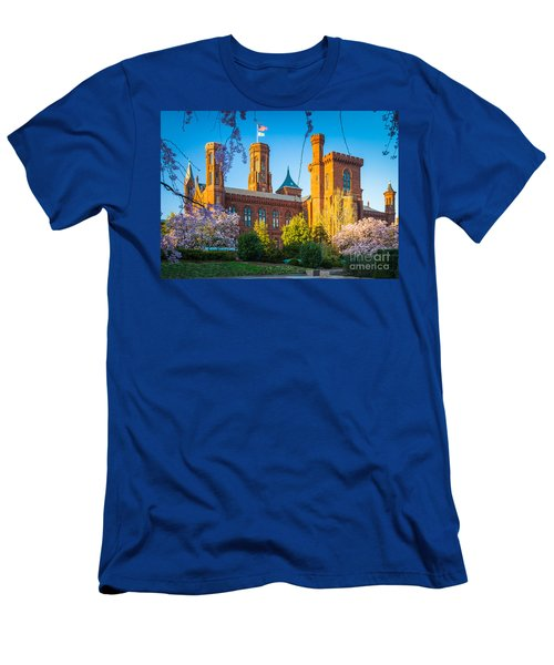 Smithsonian Castle Men's T-Shirt (Athletic Fit)