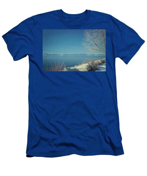Snowing In Tahoe Men's T-Shirt (Athletic Fit)
