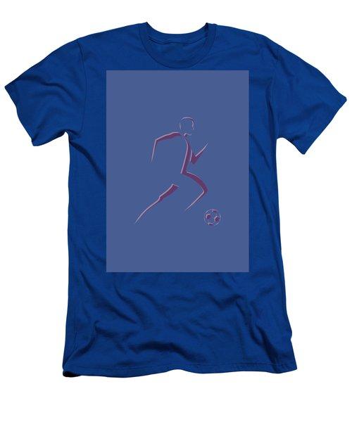 Soccer Player2 Men's T-Shirt (Athletic Fit)