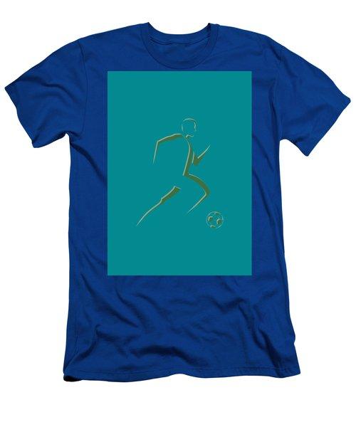 Soccer Player7 Men's T-Shirt (Athletic Fit)