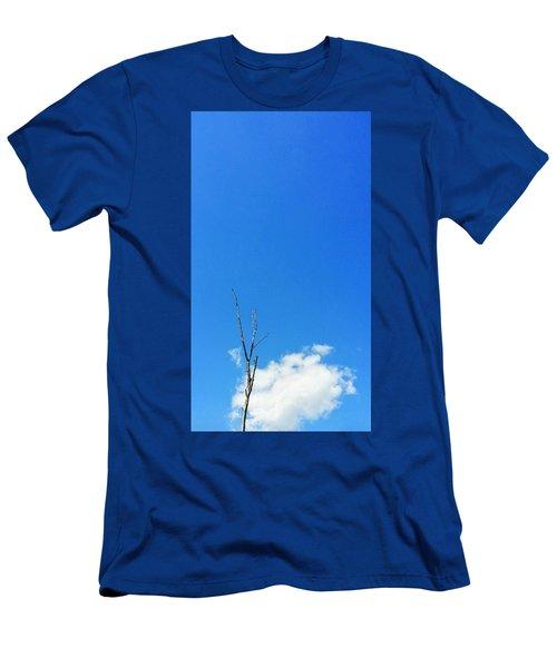 Solitude - Blue Sky Art By Sharon Cummings Men's T-Shirt (Athletic Fit)