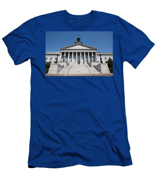 South Carolina State Capital Building Men's T-Shirt (Athletic Fit)