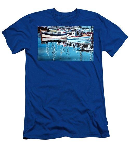 Spain Series 04 Cadaques Portlligat Men's T-Shirt (Athletic Fit)