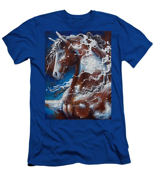 Splish Splashed My Paint Men's T-Shirt (Athletic Fit)