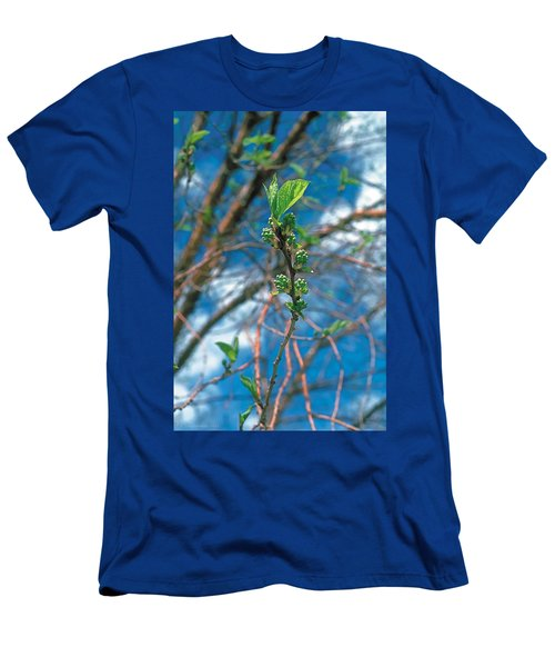 Spring Men's T-Shirt (Slim Fit) by Terry Reynoldson