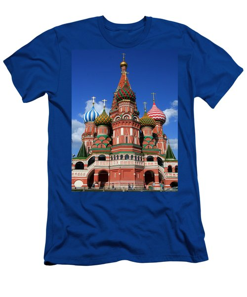 St. Basil's Cathedral Men's T-Shirt (Athletic Fit)