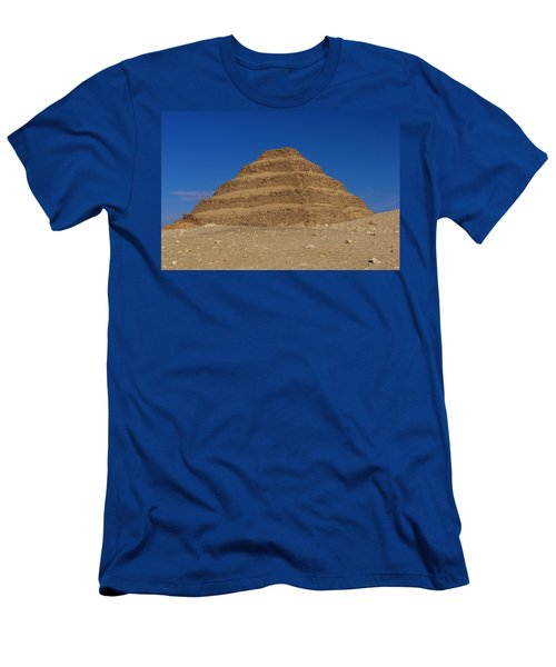 Step Pyramid Of King Djoser At Saqqara  Men's T-Shirt (Athletic Fit)