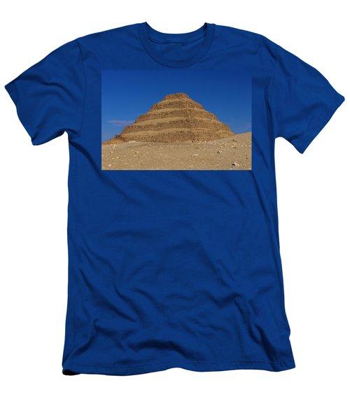 Step Pyramid Of King Djoser At Saqqara  Men's T-Shirt (Athletic Fit)