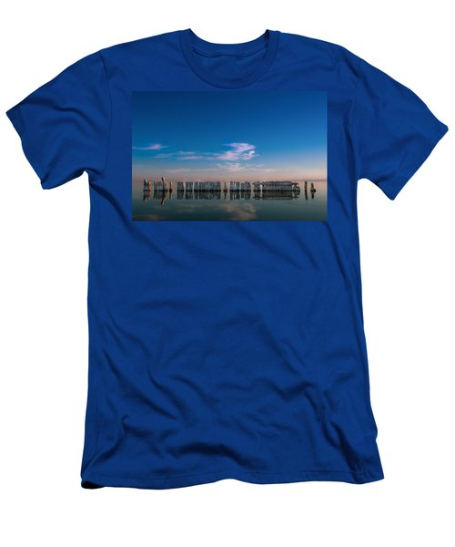 Still Water Men's T-Shirt (Slim Fit) by Ralph Vazquez