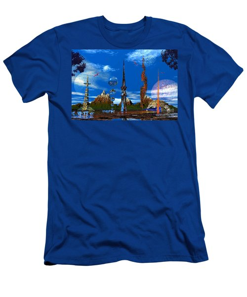 Strange Planet Men's T-Shirt (Athletic Fit)