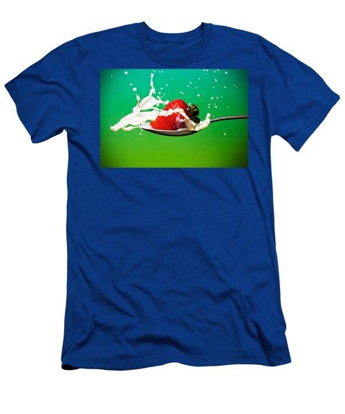 Strawberry Milk Men's T-Shirt (Athletic Fit)