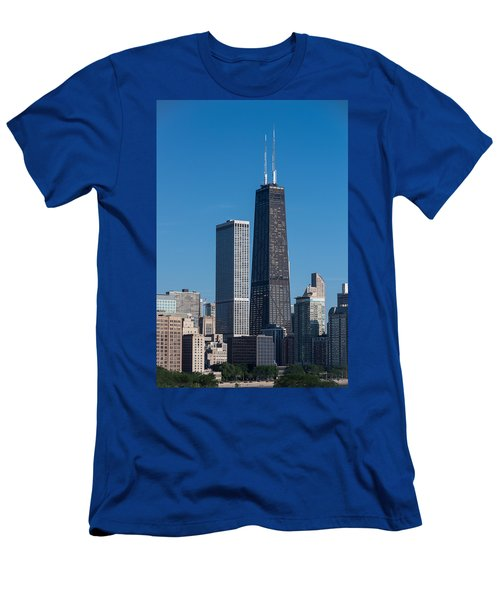 Streeterville Chicago Illinois Men's T-Shirt (Athletic Fit)