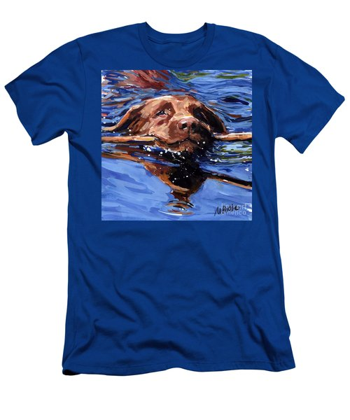 Strong Swimmer Men's T-Shirt (Athletic Fit)
